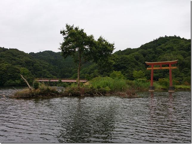 亀山湖鳥居岬