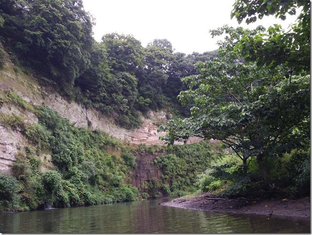 亀山ダム岩盤