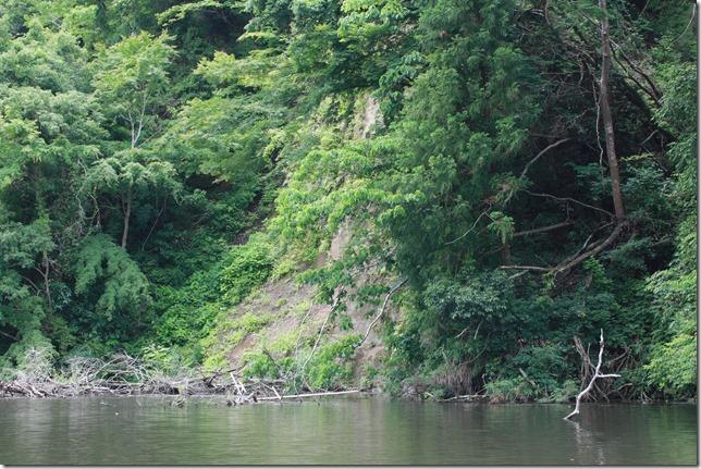 亀山ダム崩落1