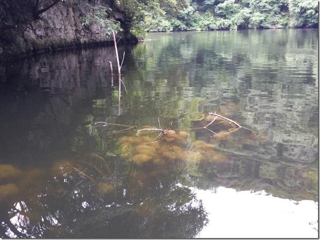 亀山湖押切沢崩落