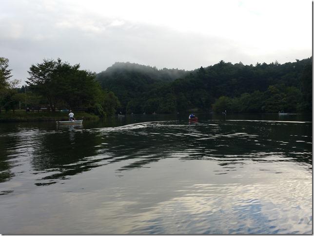亀山湖浮遊ゴミ