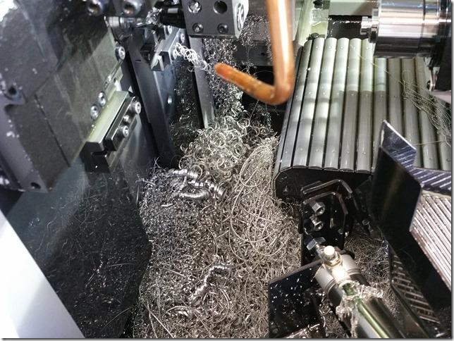 マシン内部の切子
