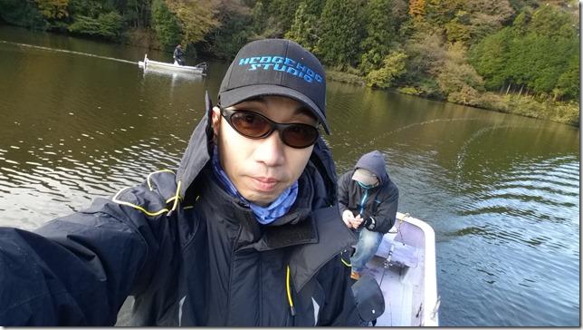 亀山湖同船