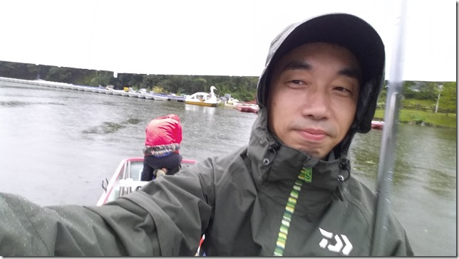 亀山ダム雨