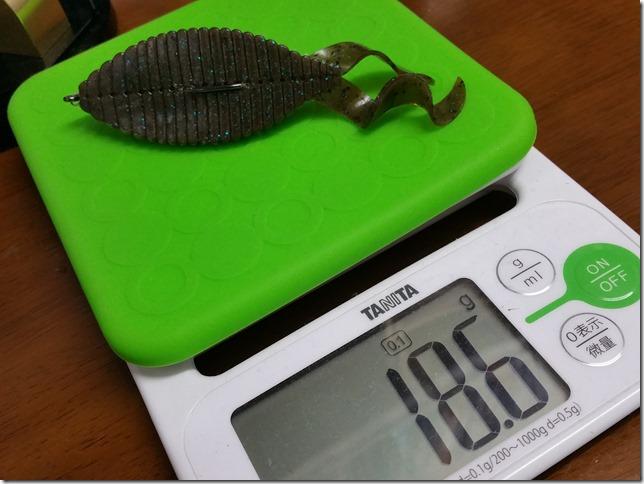 スタッガーワイド4インチ重量