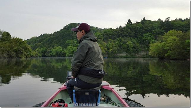 4月の亀山湖