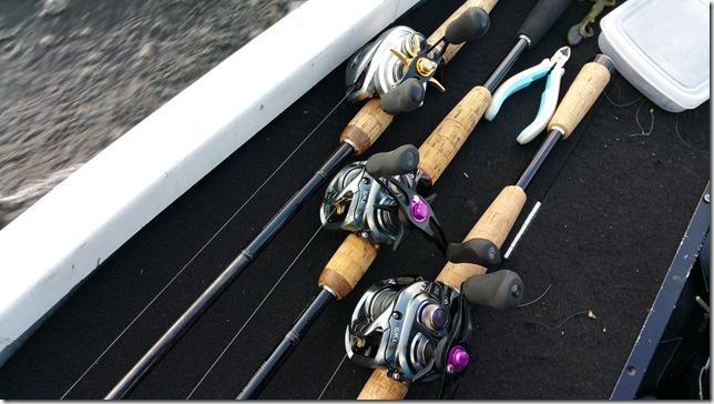 Daiwa TATULA SV TW 8.1L and Daiwa TD BATTLER LIMITED HARRIER80