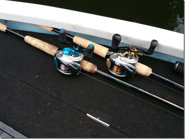 Daiwa TD BATTLER LIMITED HARRIER80and SHIMANO13metaniumXG