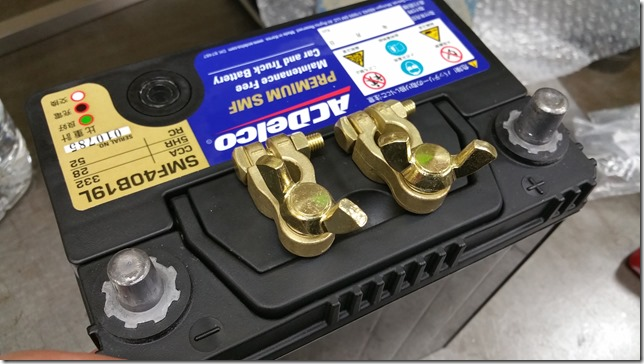 Battery terminal ACDelco (エーシーデルコ) SMF40B19L