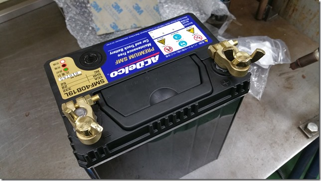 Battery terminal ACDelco (エーシーデルコ) SMF40B19L-2