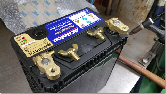 Battery terminal ACDelco (エーシーデルコ) SMF40B19L-3