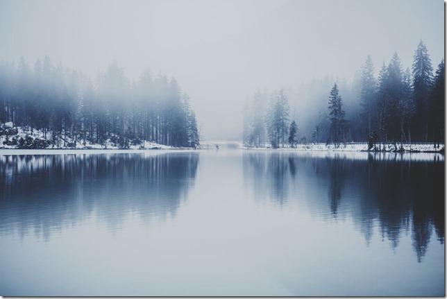 真冬のレイク