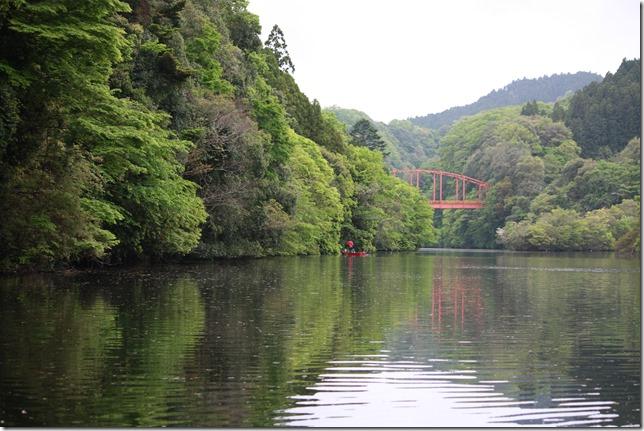 千葉県亀山ダムの風景