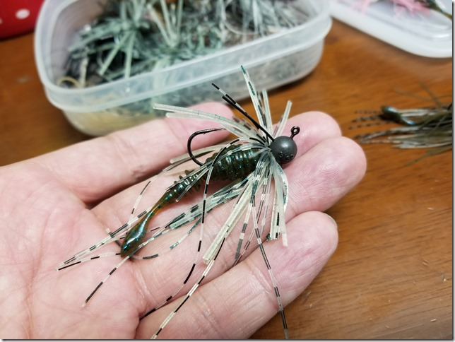 Small rubber jig4.11