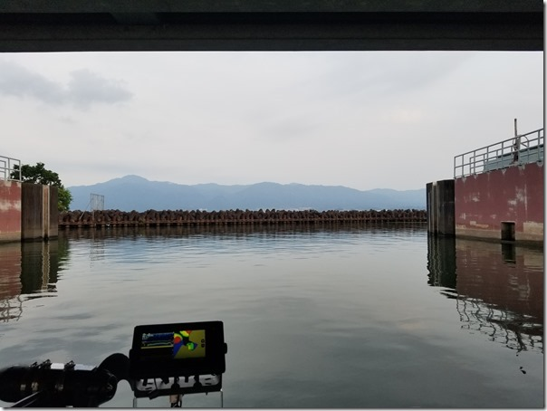 Big one in Lake Biwa
