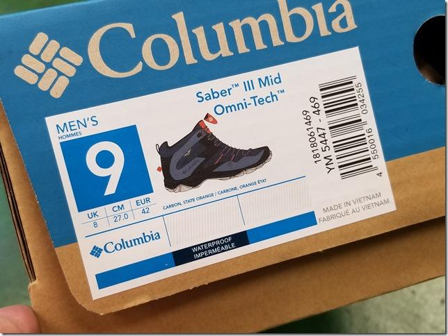 Columbia SaberⅢMid Omni-Tech (33)