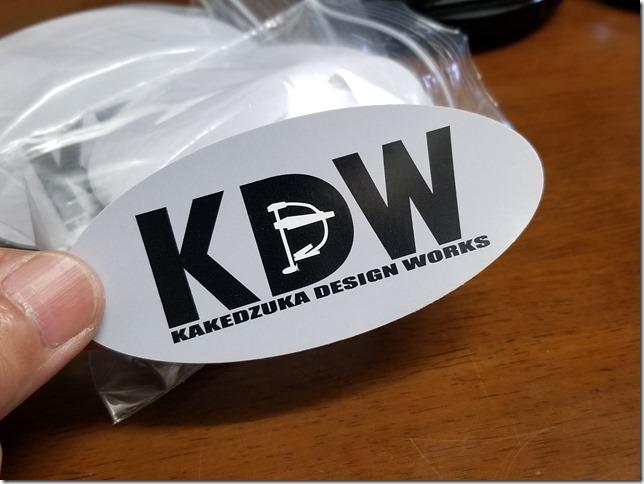 KDWステッカー
