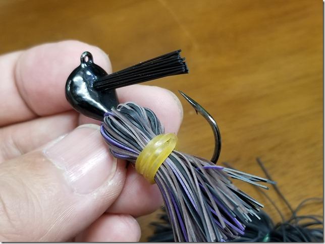 Handmade rubber jig-4