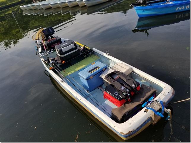 亀山ダムのレンタルボート&エレキスタイル