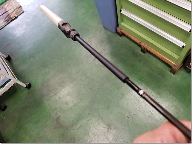 Carbon pipe for bass Rod