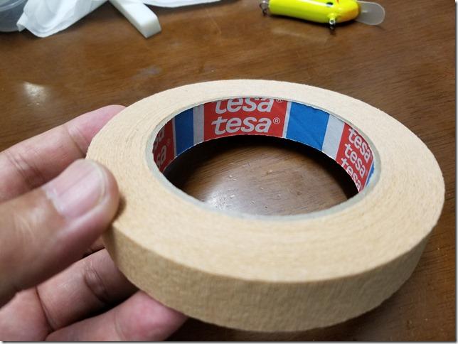 TESA tape for bass Rod