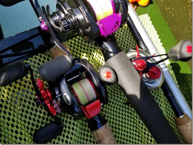Custom bait reels